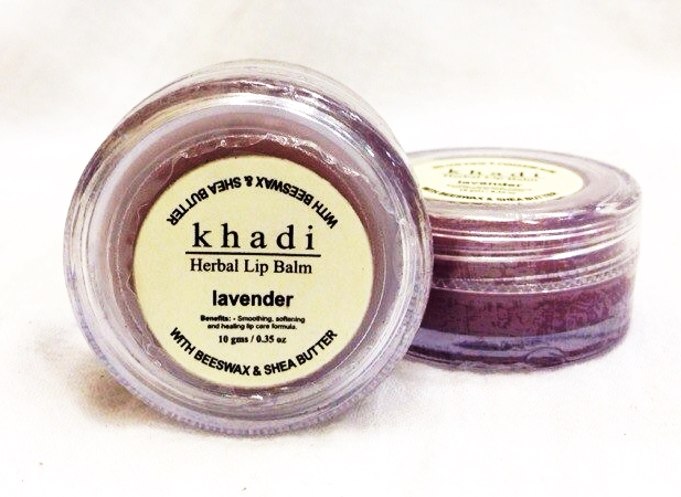 Бальзам для губ лаванда Khadi (10 г) масло эфирное лаванда 10мл