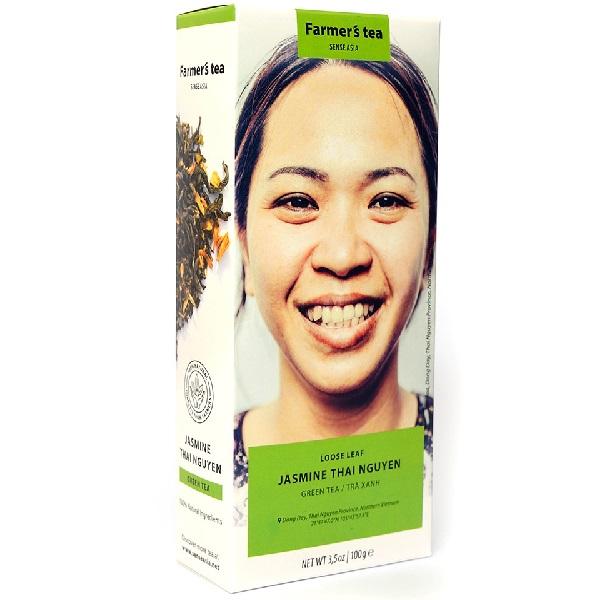 Чай травяной с жасмином Sense Asia Farmer's tea (100 г)