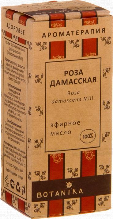 где купить Роза дамасская 10 мл эфирное масло Ботаника по лучшей цене