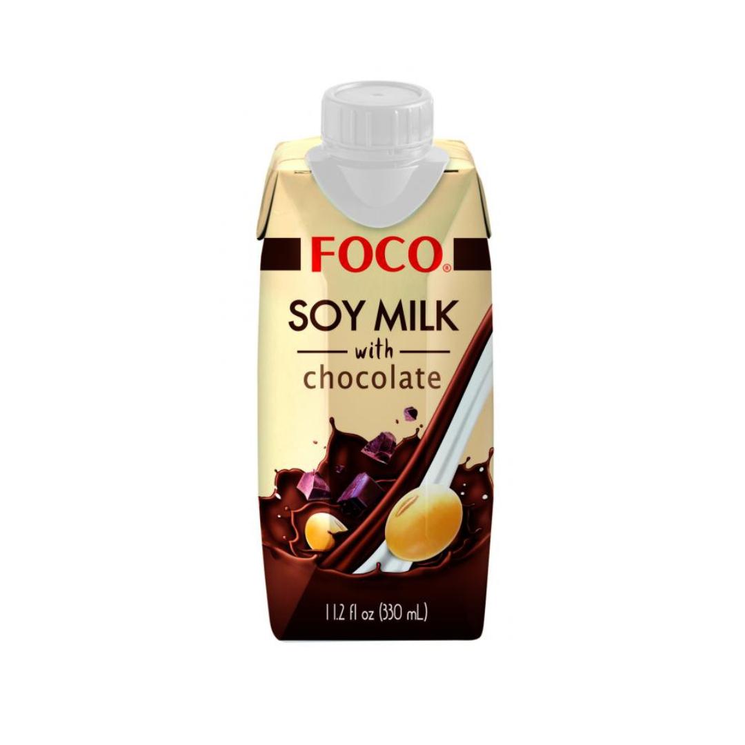Соевый напиток шоколадный FOCO (330 мл)