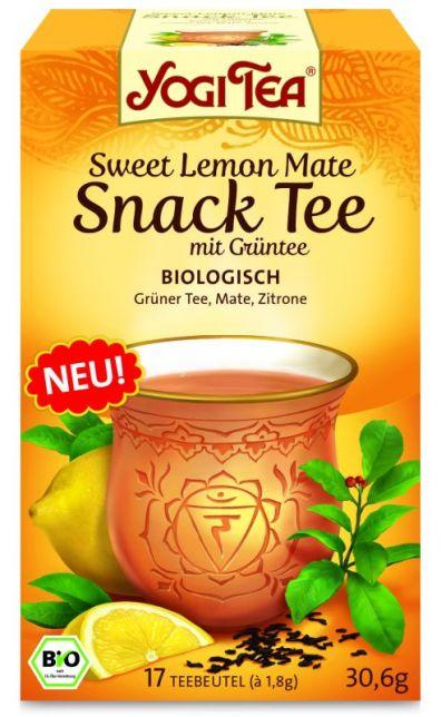 Йога чай Зеленый чай с лимоном и матэ\Yogi Tea Sweet Lemon whith Green Tea