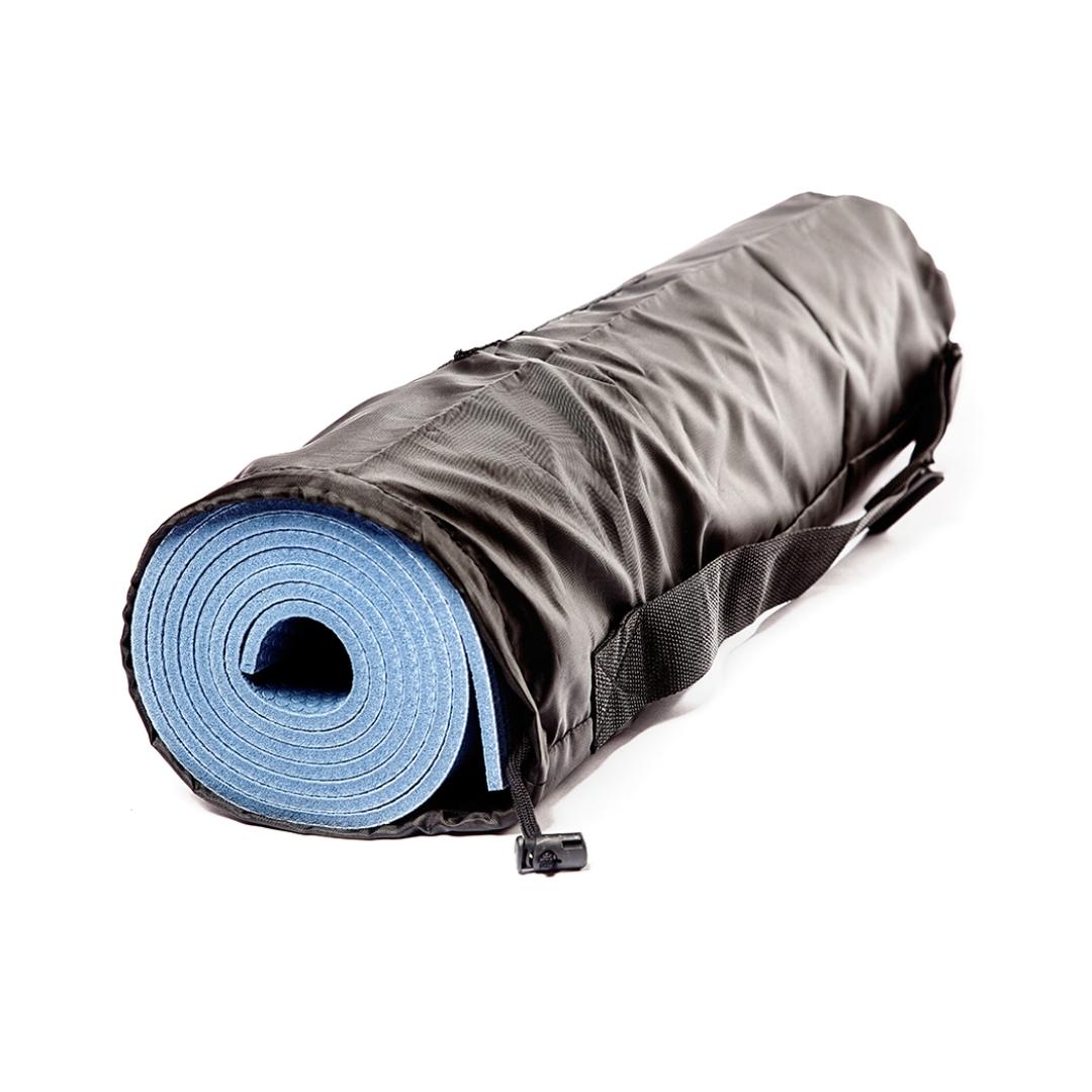 Чехол для коврика Симпл без кармана Рамайога (0,1 кг, 16 см, 60 см, черный)