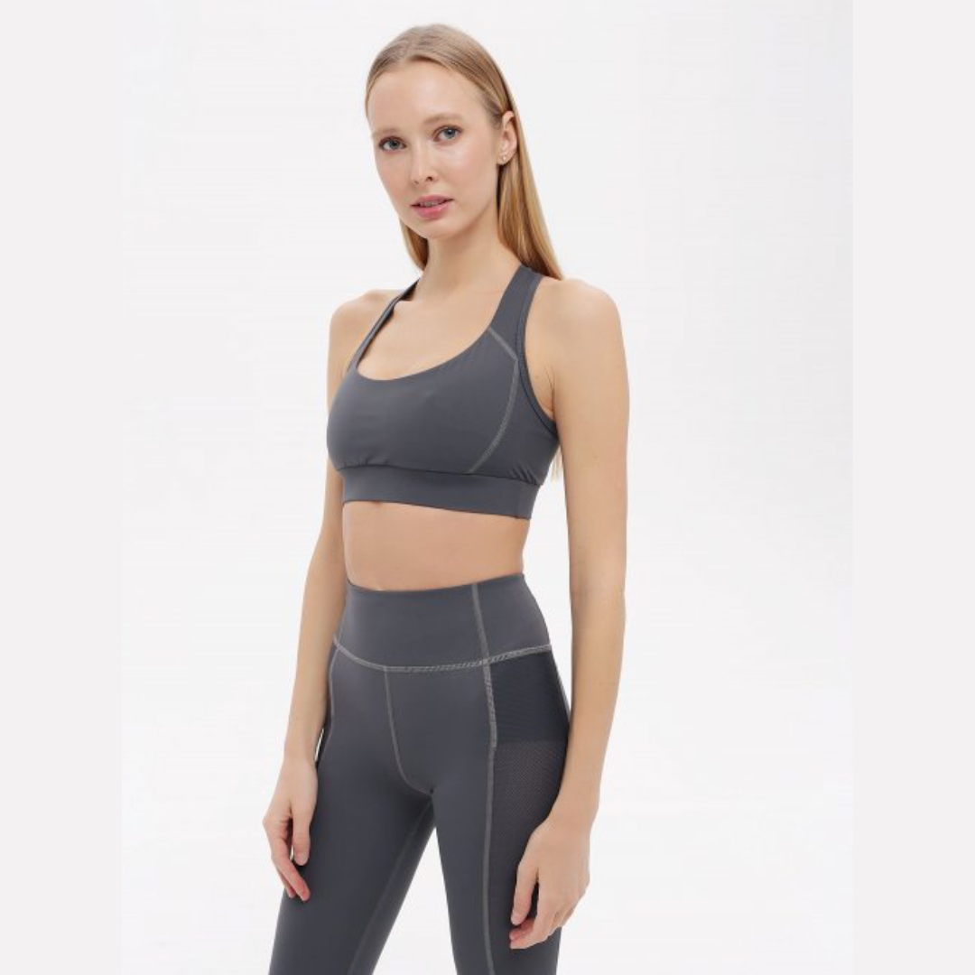 Топ Cross Gray Urban Yoga (серый M (44))