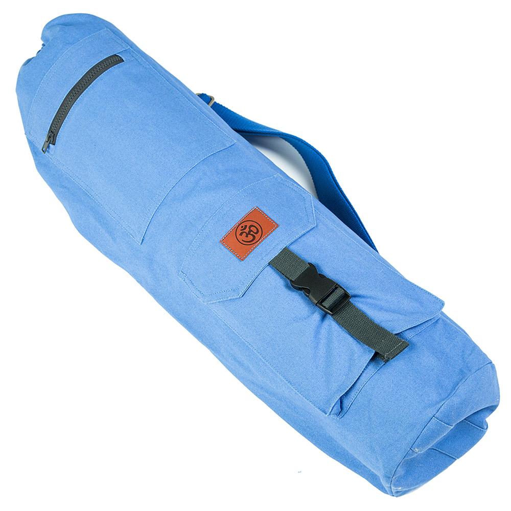 Сумка хлопковая для коврика Сутра DY (0.35 кг, 70 см, синий, 18 см) сумка хлопковая для коврика сутра dy 0 35 кг 70 см синий 18 см