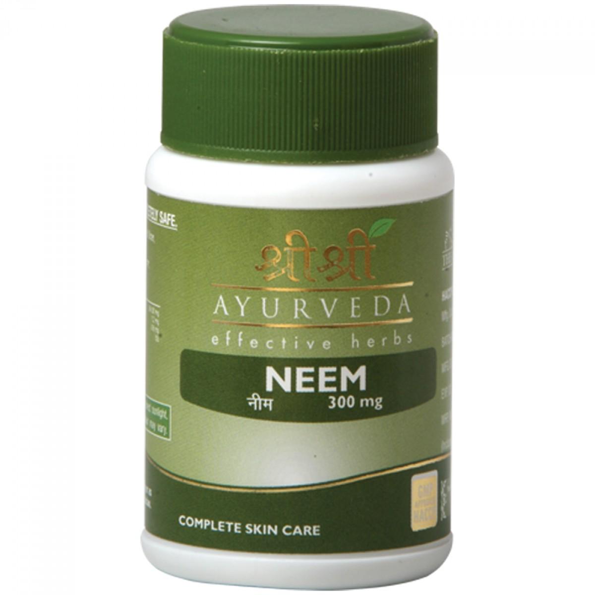 Ним в таблетках Neem Sri Sri (60 шт )