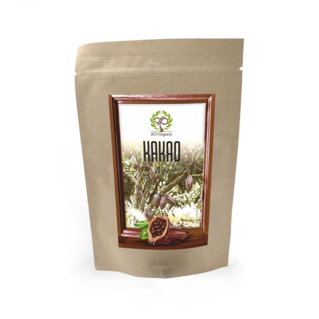 Какао-порошок из Африки ACT-Organic (100 г) хлорелла порошок из японии act organic 50 г
