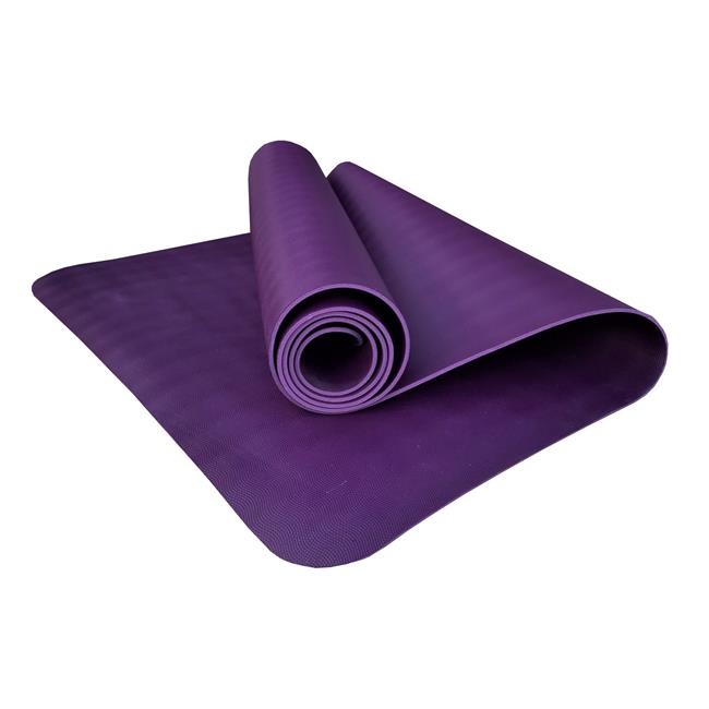 Коврик для йоги YogaMad SuperGrip 4мм из каучука (1.6 кг, 185 см, 4 мм, фиолетовый, 60см) коврик для йоги samurai marbled 4мм из каучука 2 3 кг 185 см 4 мм фиолетовый 60см