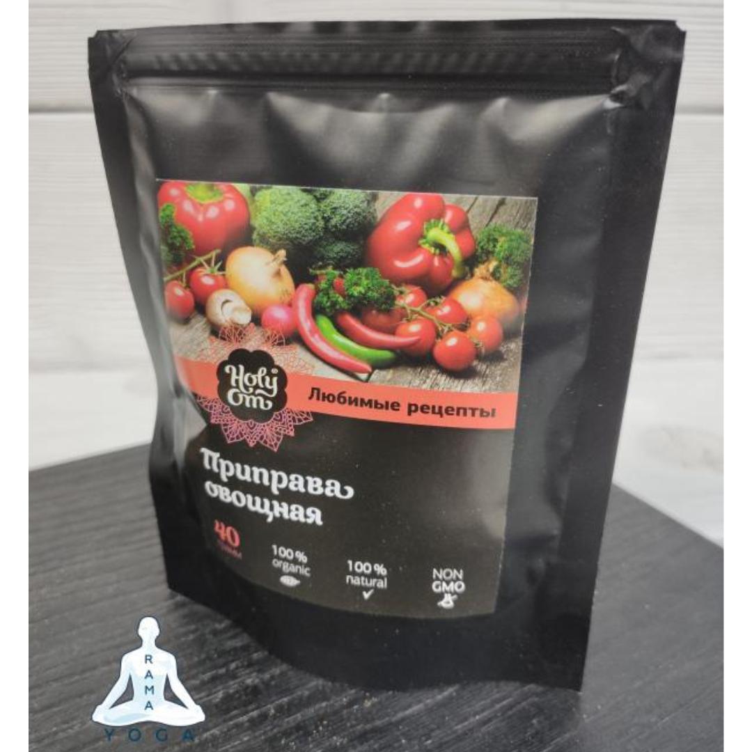 цены Приправа овощная Holy Om (40 г)