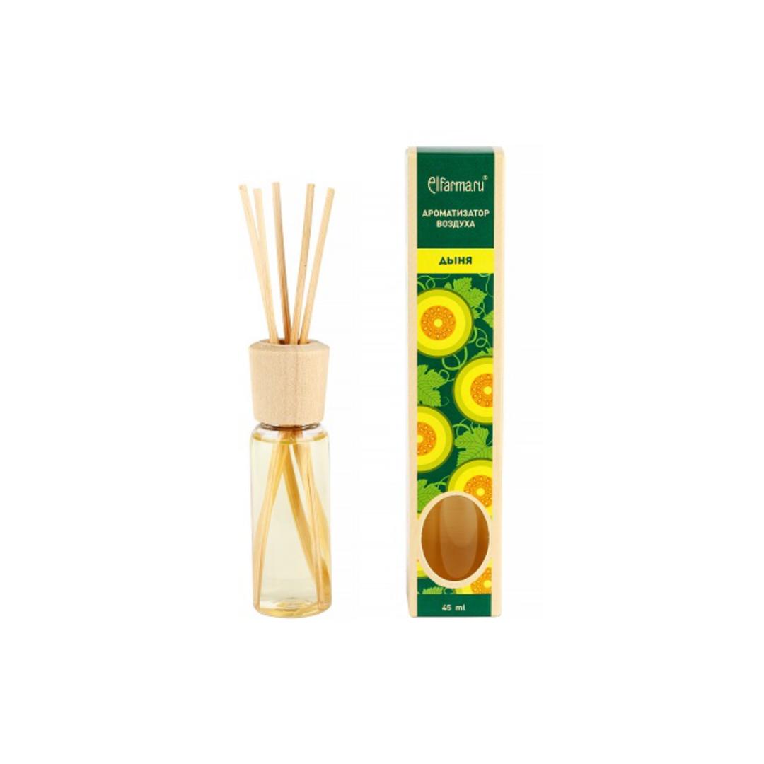 Ароматизатор тростниковый Дыня Elfarma (50 мл) elfarma ароматизатор воздуха с натуральным эфирным маслом апельсин 45 мл