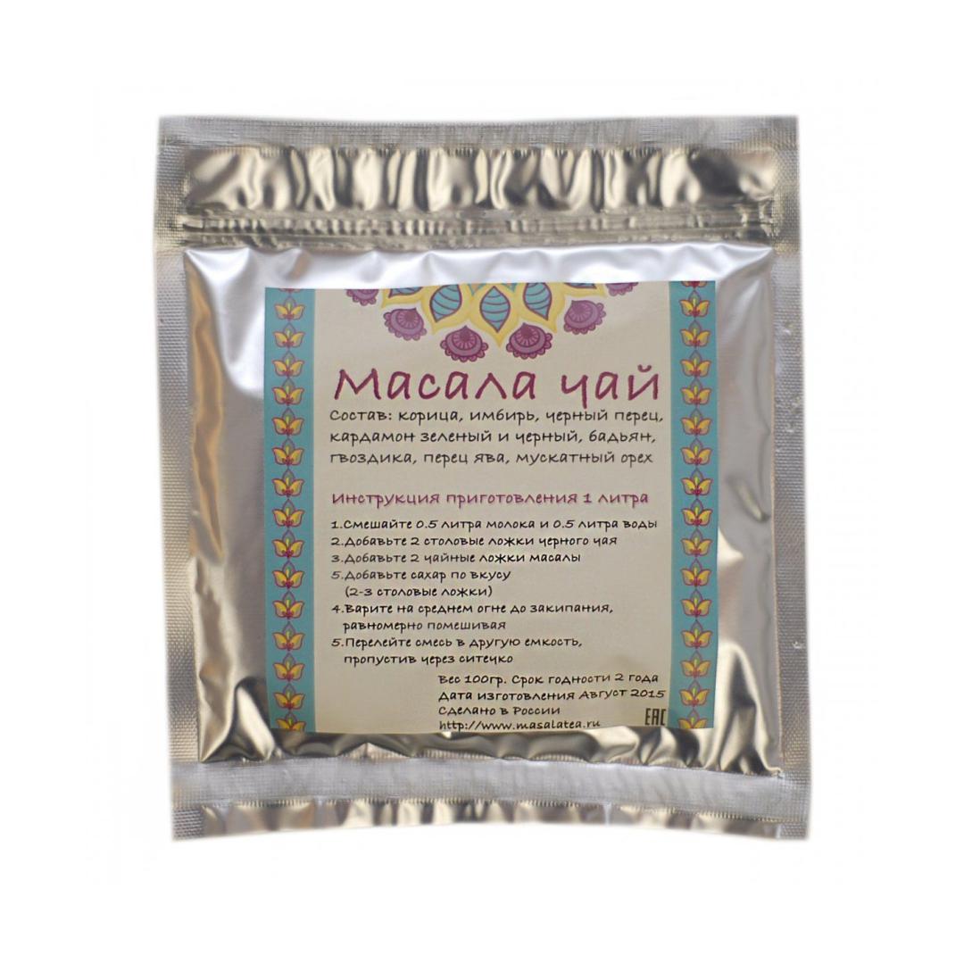 Специи для масала чая (100 г) organic india чай в банке органический туласи масала tulsi masala tea тулси