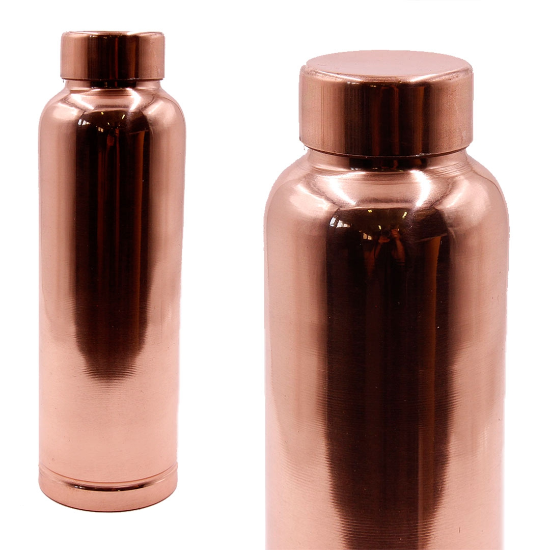 Медная бутылка для обогащения воды 750мл (0,3 кг, 750 мл)