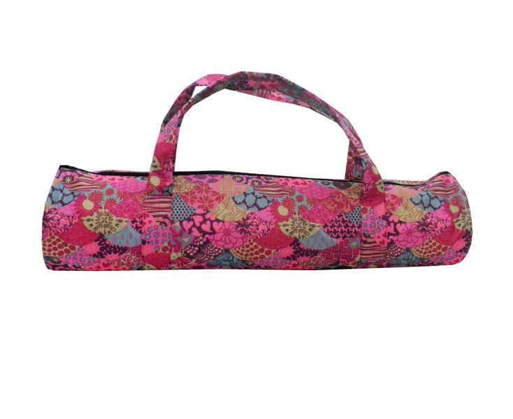 Сумка для коврика Индира, розовая (16 см, 70 см, розовый)
