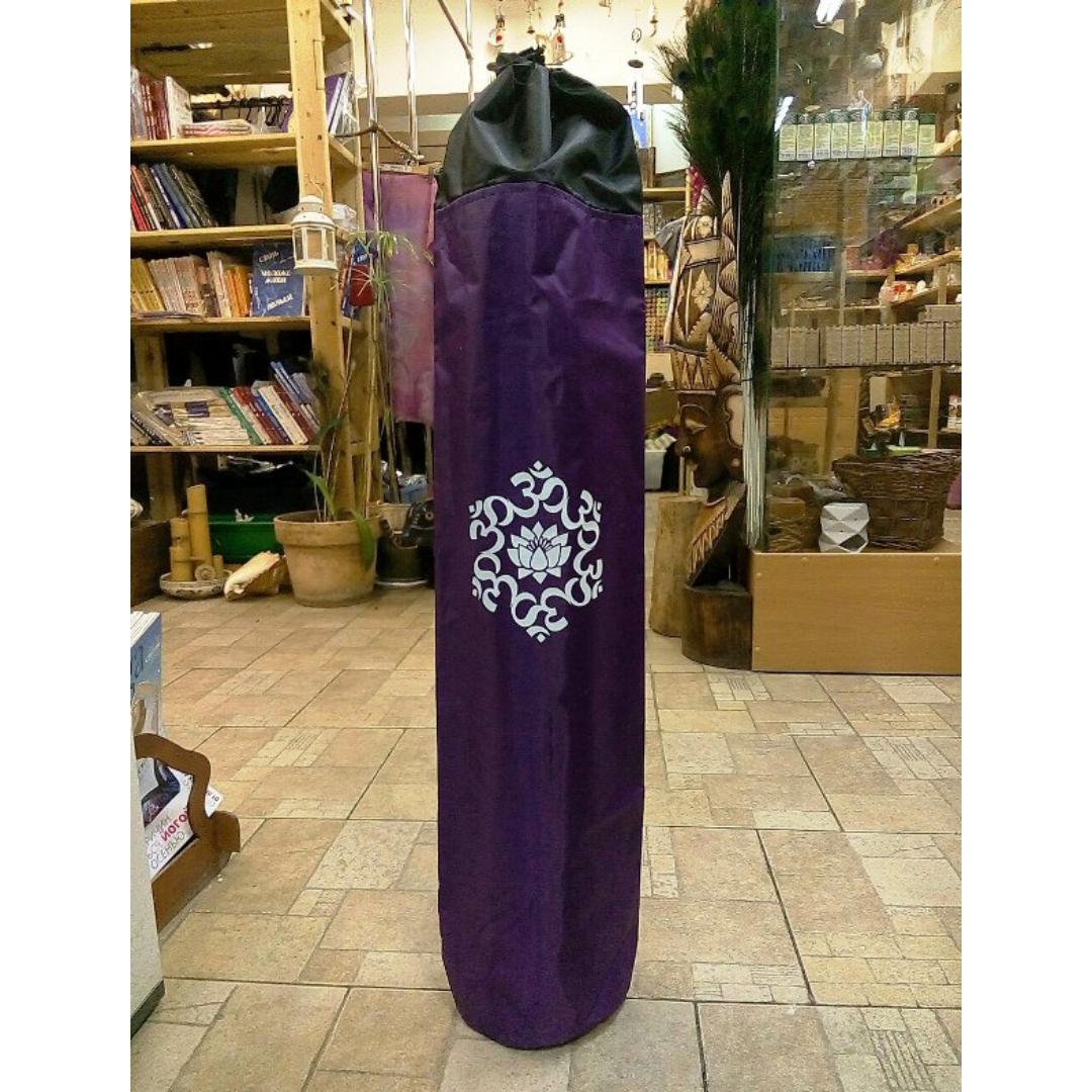 Чехол для коврика с принтом ом (фиолетовый) чехол для туристического коврика klymit quilted v sheet