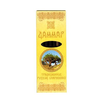 Благовония даммар русские (0,05 кг, 7 шт) благовония храмовые cobra 0 05 кг