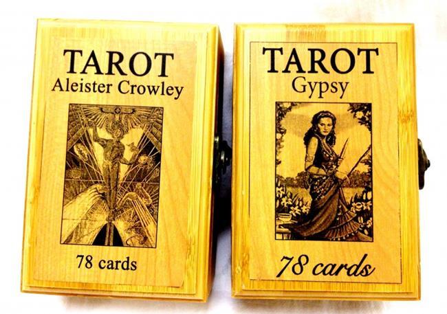 Коробка для карт Таро подарочная дерево