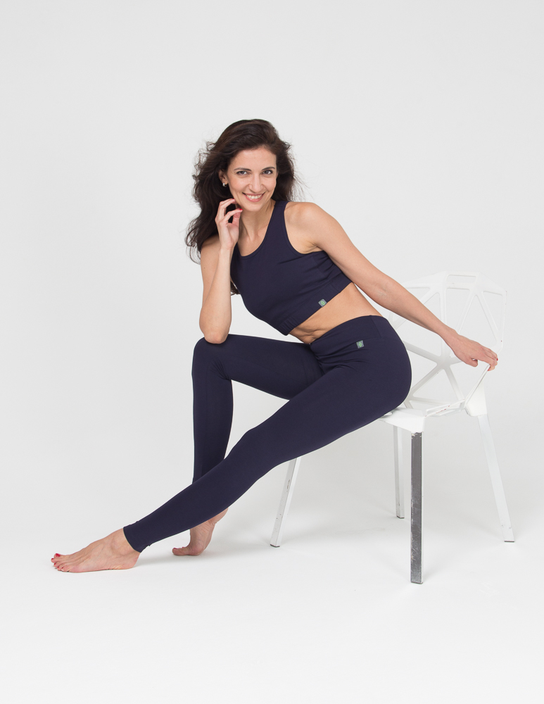 Женские тайтсы Miss Incredible YogaDress (0,3 кг, M (44-46), темно-синий)