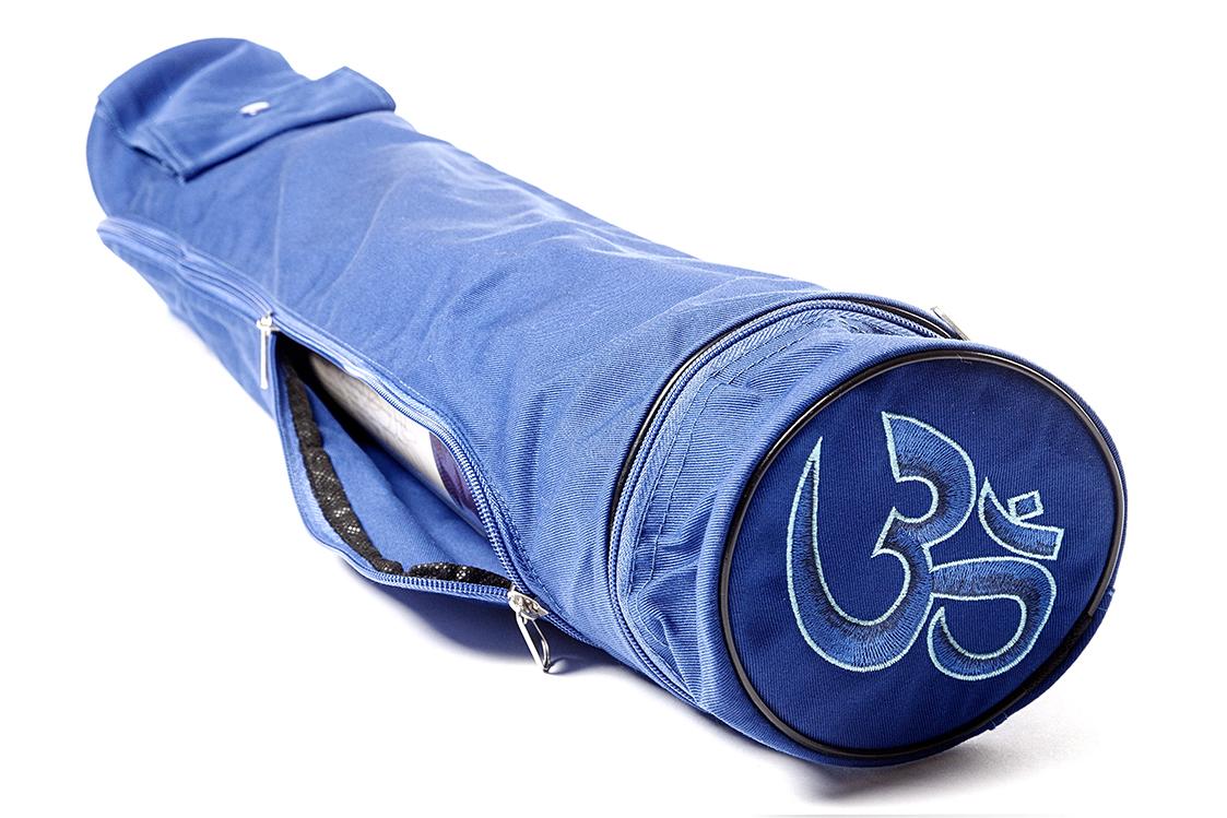 Чехол Асана Стандарт для йога коврика (15 см, 70 см, синий)