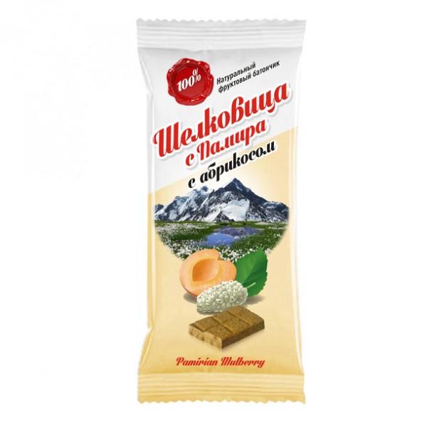 Батончик из шелковицы с Абрикосом, 20 г naturaliber паста шоколадная с абрикосом 225 г