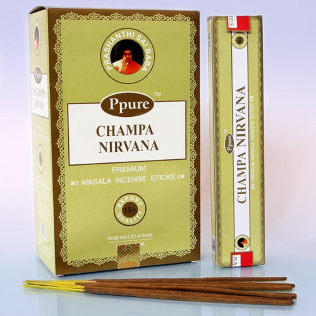 Благовония нирвана Ppure / Nirvana Ppure (0.1 кг, 15 г) благовония масала мирра myrrh masala hem 0 05 кг 15 г
