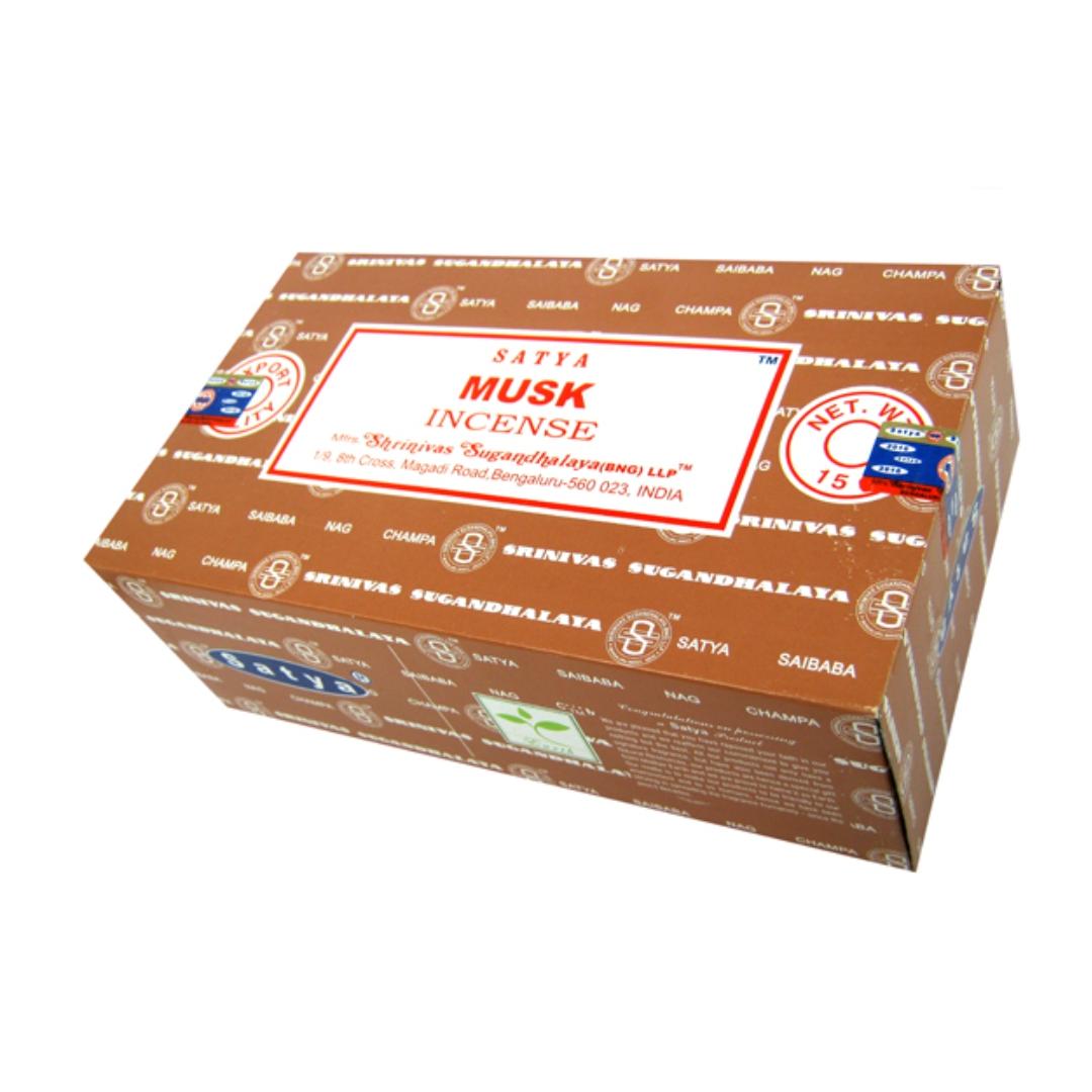 Благовония муск musk Satya серия incense (0,05 кг, 15 г, коричневый) цена 2017