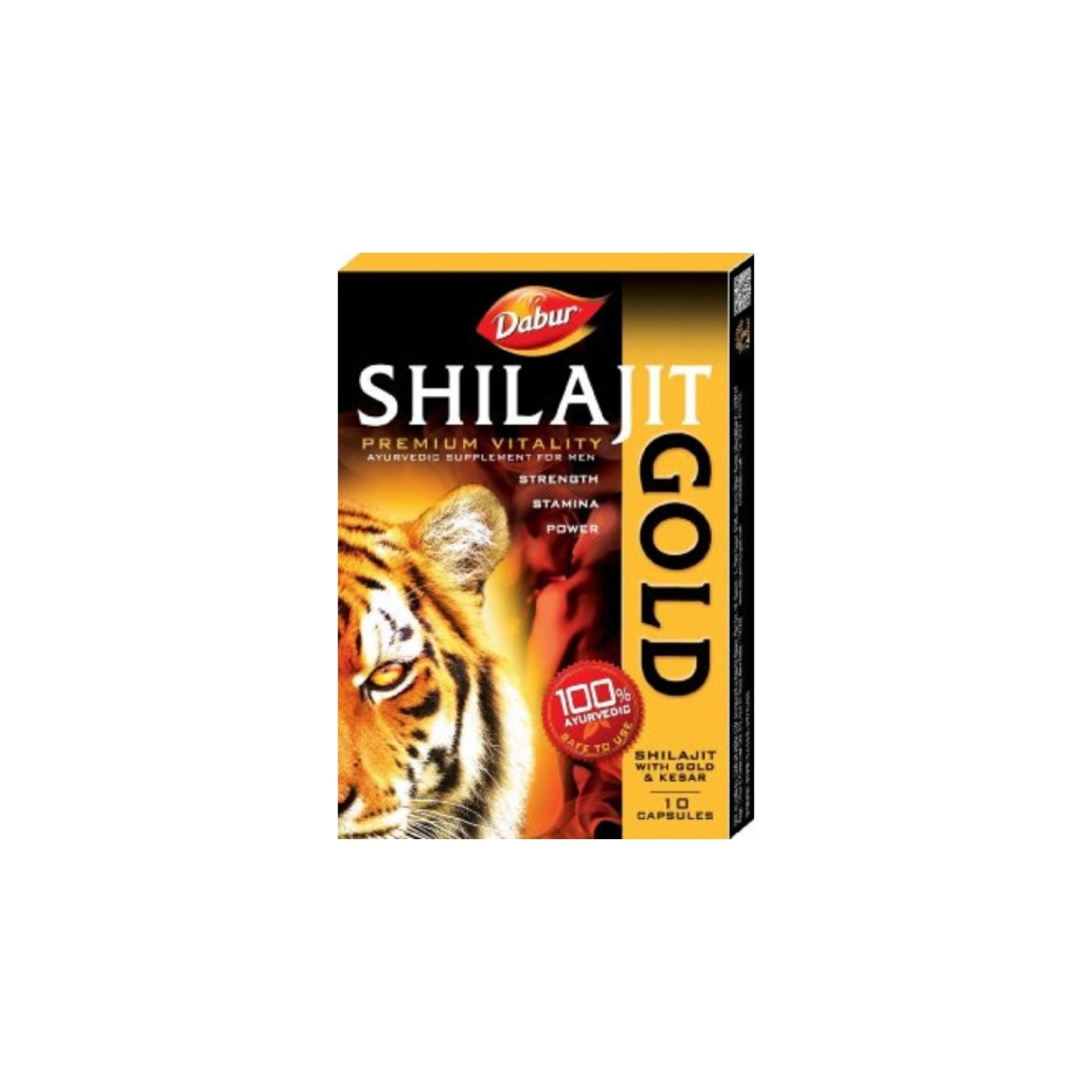 Мумие шиладжит голд мужская сила Shilajit Gold Dabur (20шт)