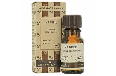 Чабрец 10мл эфирное масло Ботаника (10 мл) недорого