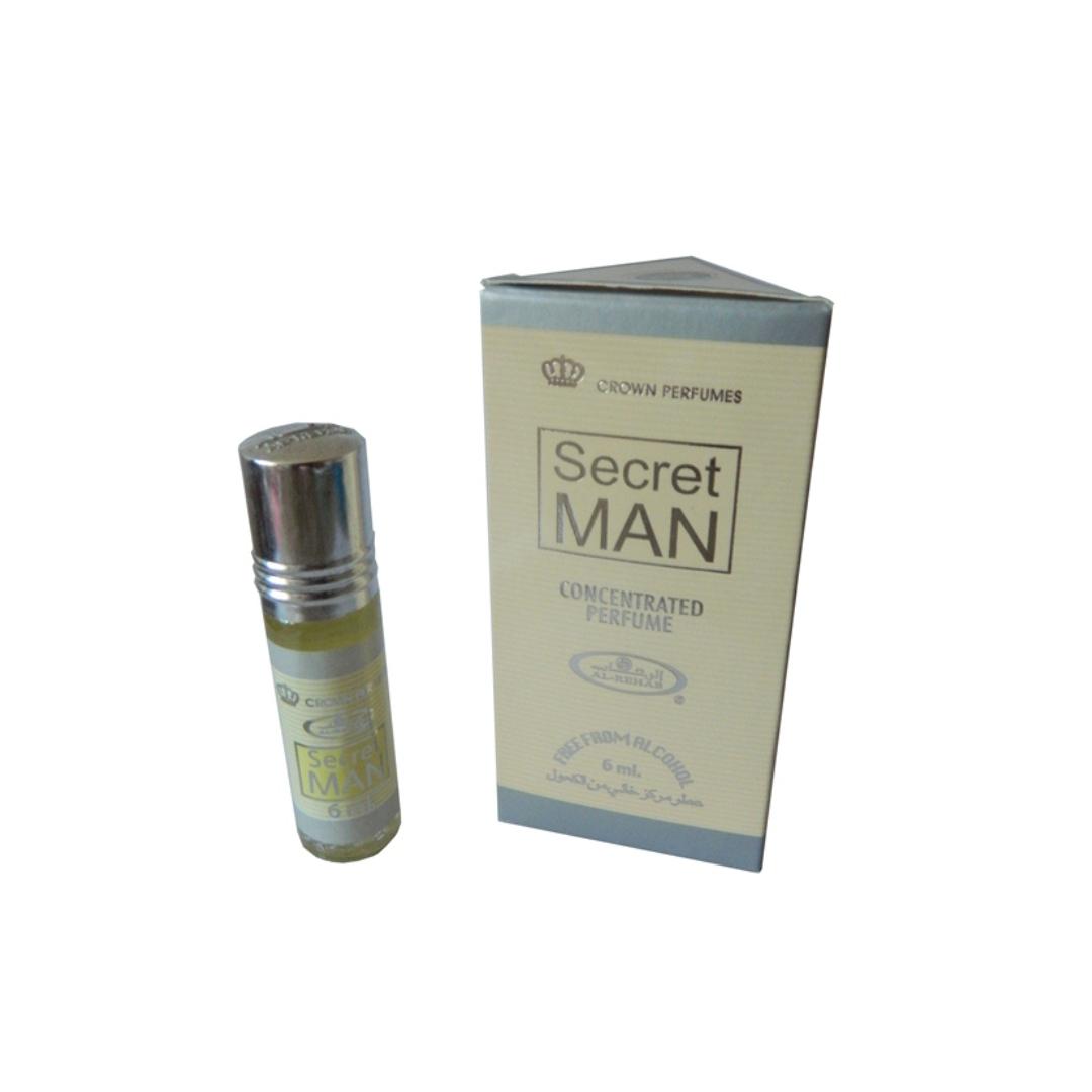 Арабские духи мужские Secret man 6 мл Al rehab (6 мл)