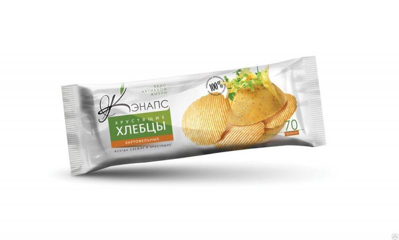 Хлебцы хрустящие картофельные Кэнапс (70 г)