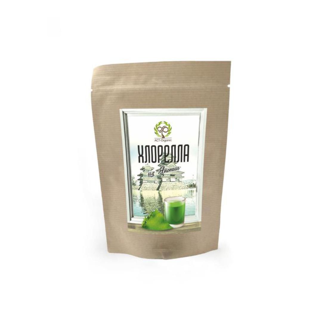 Хлорелла порошок из Японии ACT-Organic (50 г) хлорелла порошок из японии act organic 50 г