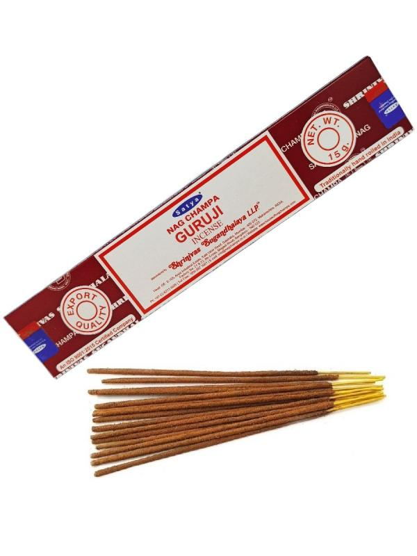 Благовония Гуруджи Cатья серия incense / Guruji Satya (15 г)
