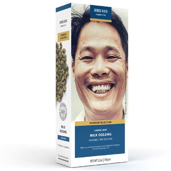 Чай молочный улун Sense Asia Farmer's tea (100 г)