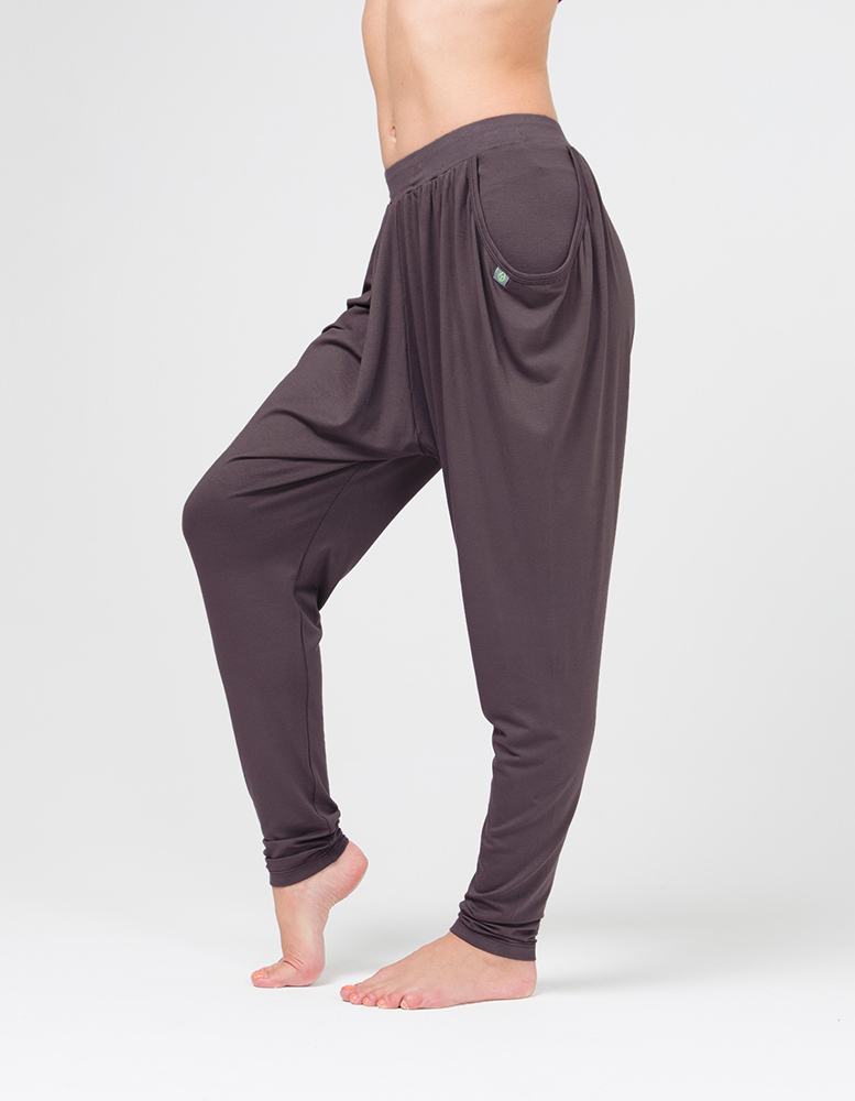 Штаны женские Never Mind мокко YogaDress (0,3 кг, XL (50), какао)