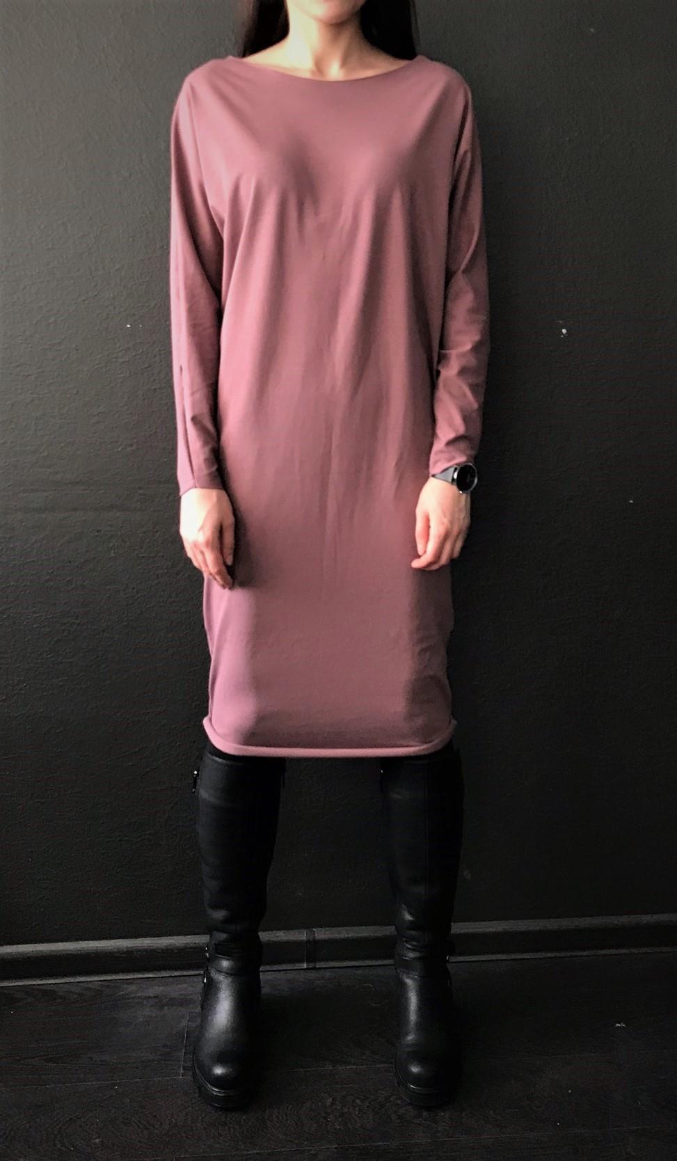цена Платье свободного кроя Рамайога (0,3 кг, OS (42-46), какао) онлайн в 2017 году