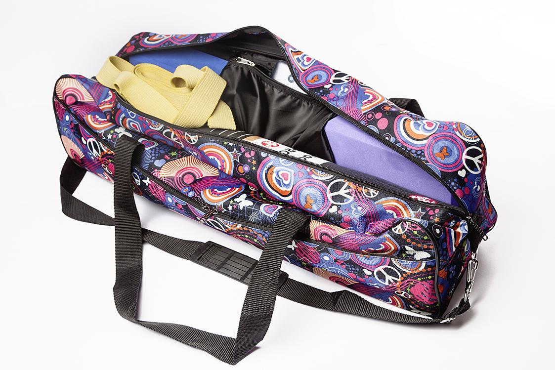 Сумка для йога-коврика Гаруда, космос (19 см, 70 см, синий, 17 см)