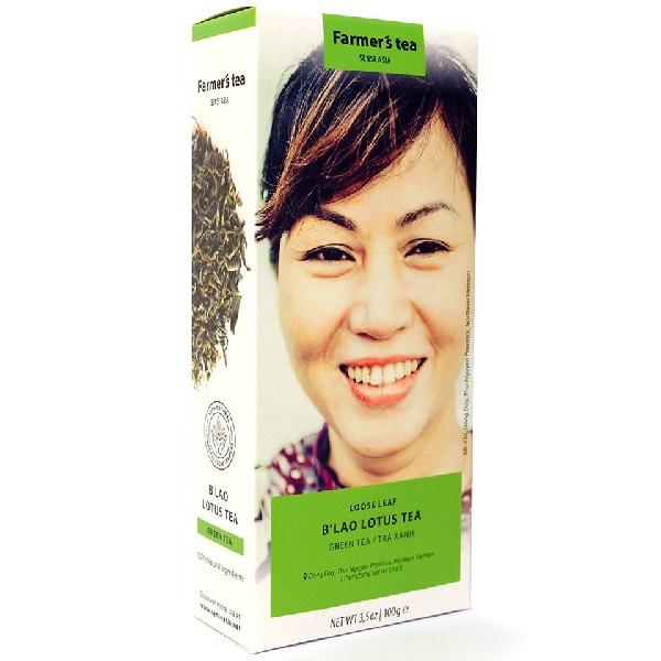 Чай зеленый с лотосом Sense Asia Farmer's tea (100 г)