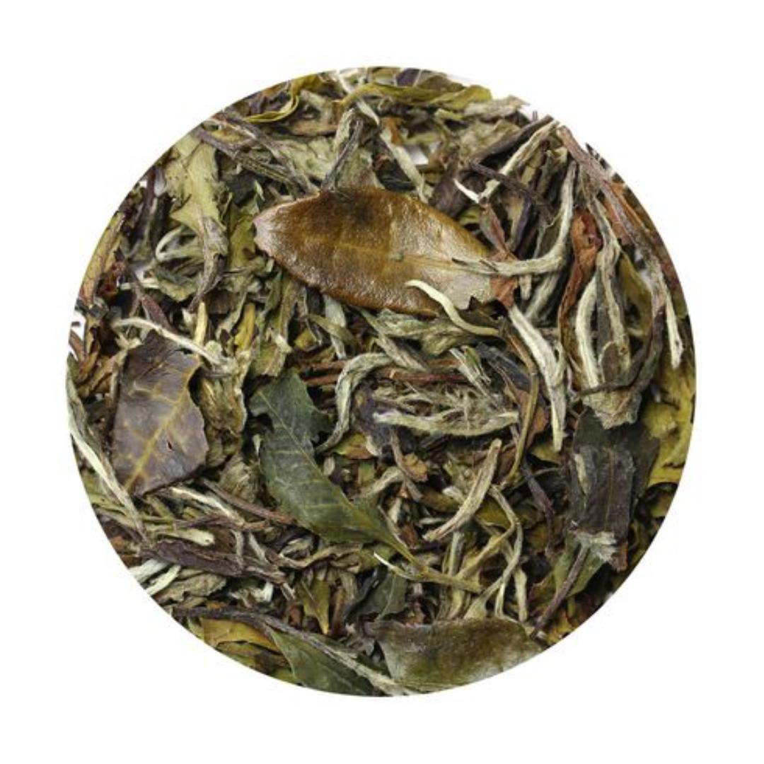 Чай рассыпной белый бай му дань белый пион 50г (50 г) премиум органические бай му дан белый пион белый чай