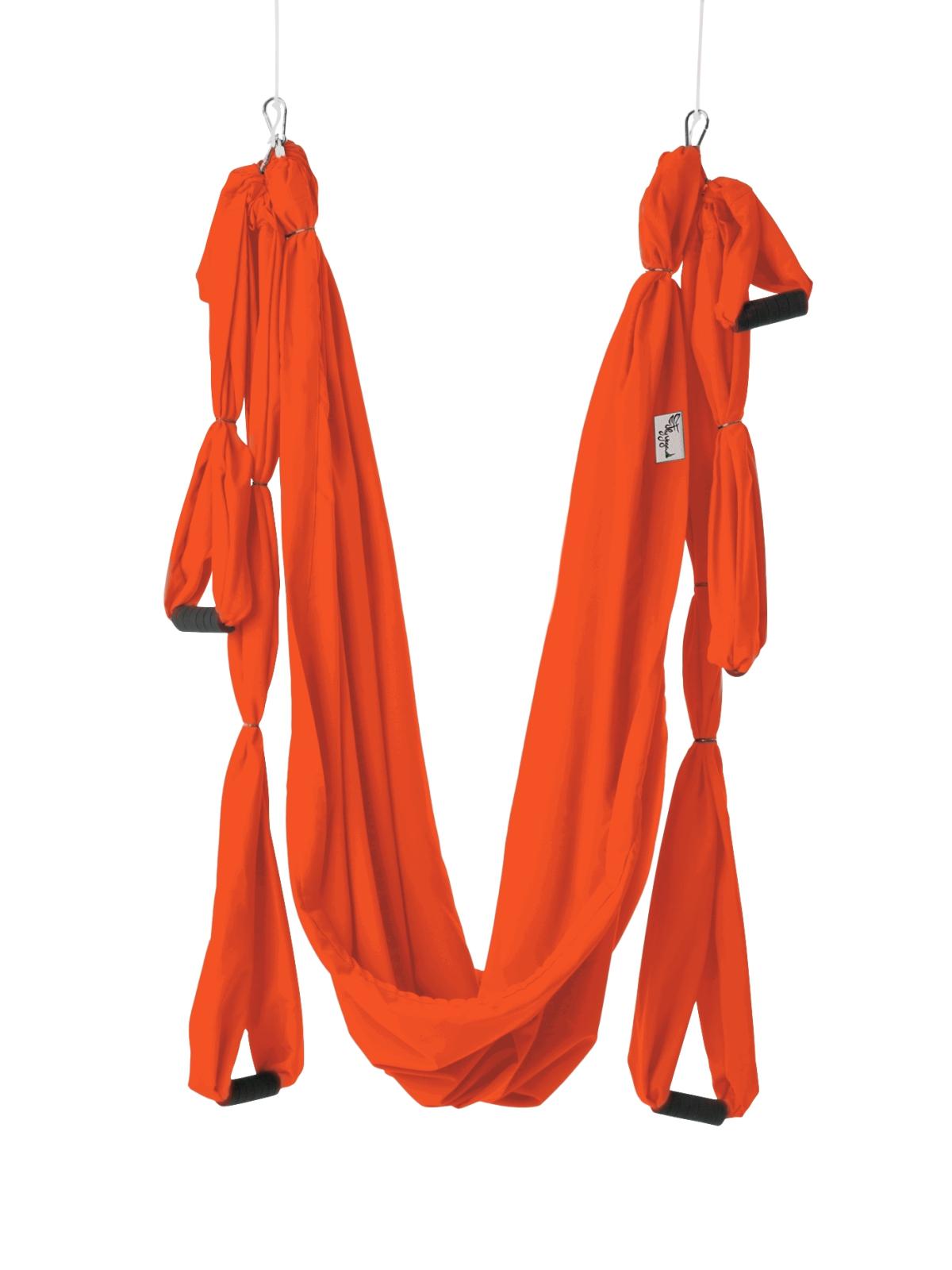 Гамак для йоги Fly Classic (2,3 кг, 270 см, оранжевый, 160см) йога гамак universal pro 1 6 кг 270 см красный 160см