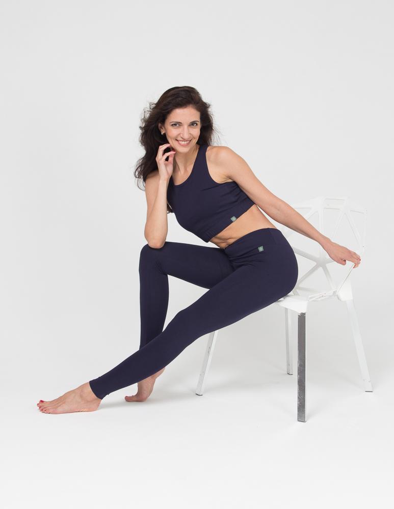 Женские тайтсы Miss Incredible YogaDress (0,3 кг, XL (48-50), темно-синий)