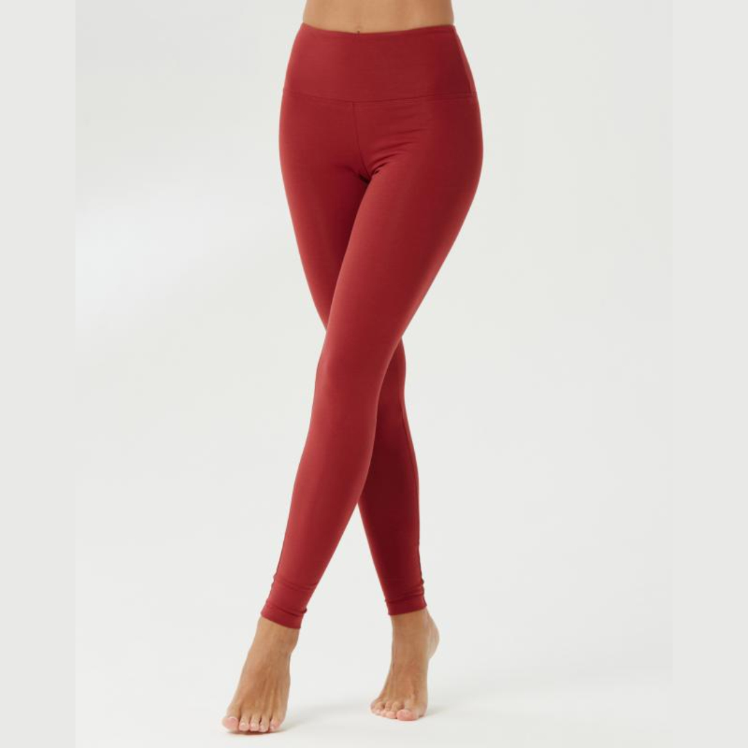 Тайтсы женские Sansara красная груша YogaDress (красный S (44))