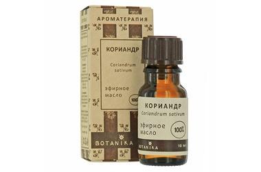 цена на Кориандр 10 мл эфирное масло Ботаника (10 мл)
