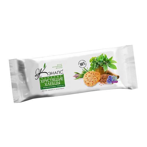 все цены на Хлебцы хрустящие льняные с прованскими травами Кэнапс (70 г) онлайн