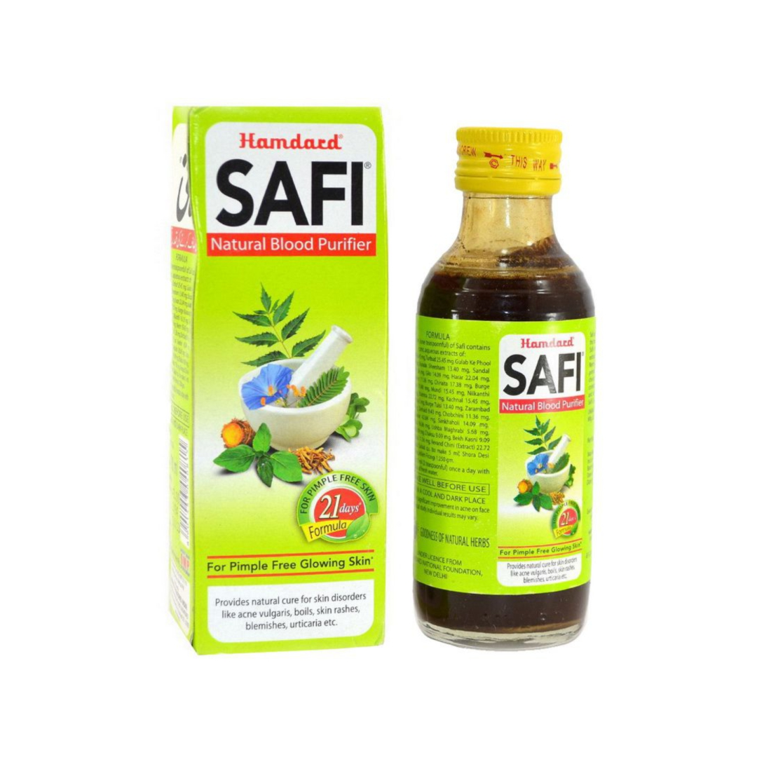 Сафи сироп для очищения крови Safi Hamdard (100 мл) капсулы для укрепления иммунитета imyoton hamdard hamdard