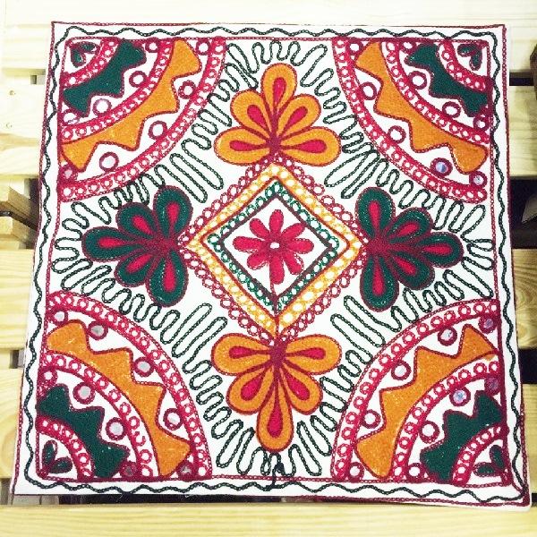 RamaYoga Чехол для подушки с вышивкой 40*40 см