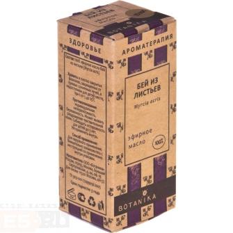 цены Бей эфирное масло из листьев 10 мл  Ботаника