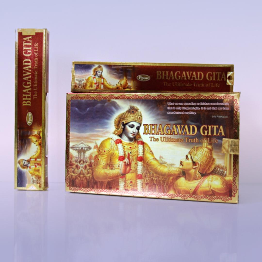 Благовония бхагавад гита bhagavad gita Ppure (15 г) благовония жасмин jasmine ppure 15 г