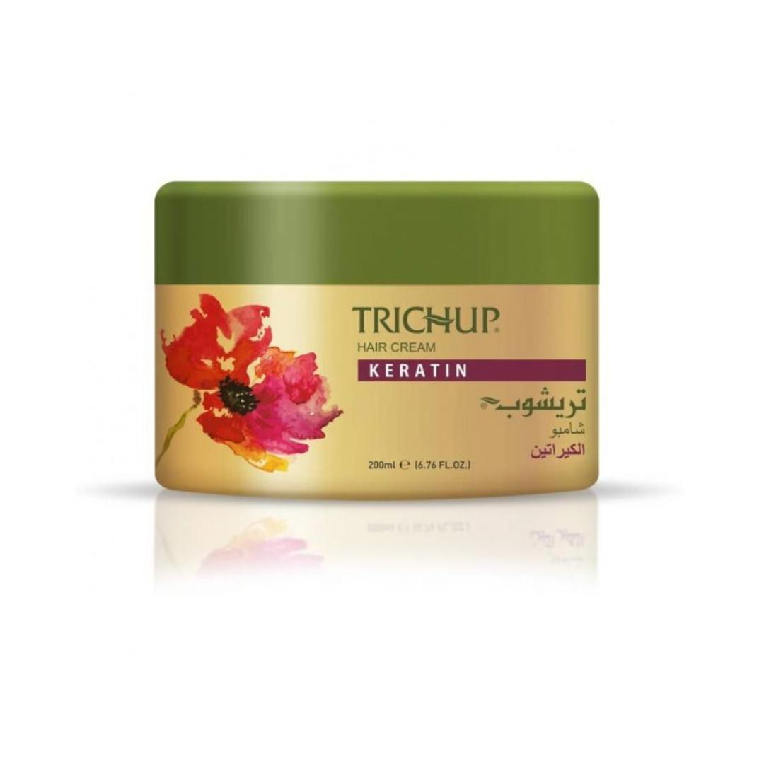 Крем для волос с Кератином Trichup Vasu (200 мл)