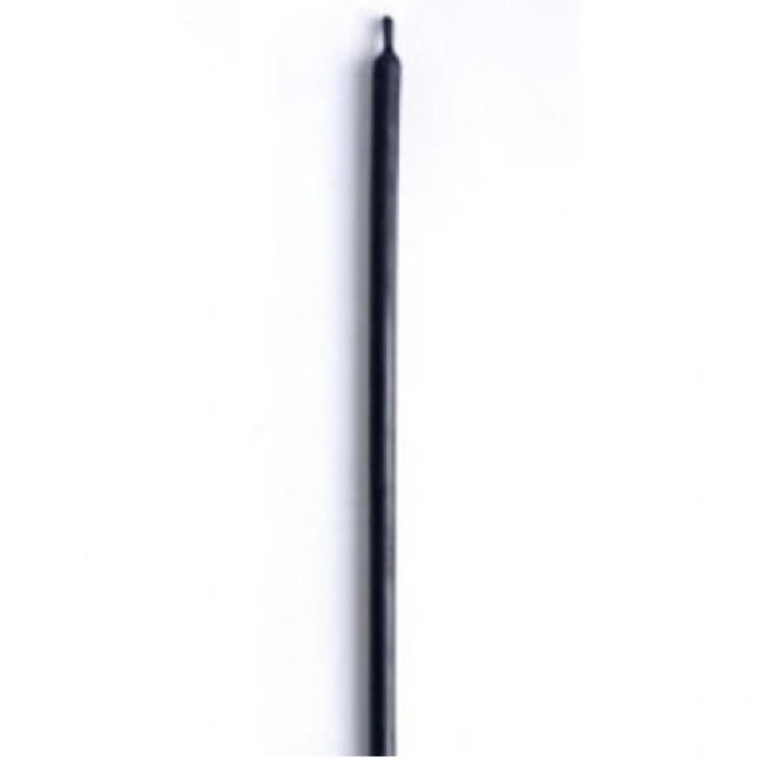 Свеча восковая 10 см черная (пасч01 0,05 кг, черный)