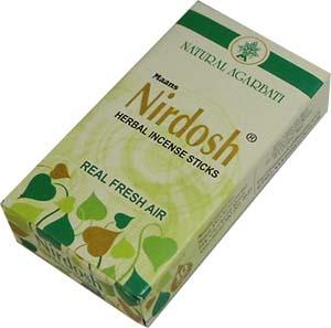 Благовония нирдош (nirdosh) на 10 видах трав безосновные, 10шт (10шт)
