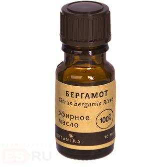Бергамот 10мл эфирное масло Ботаника масло эфирное косметическое бергамот главбаня 17 мл