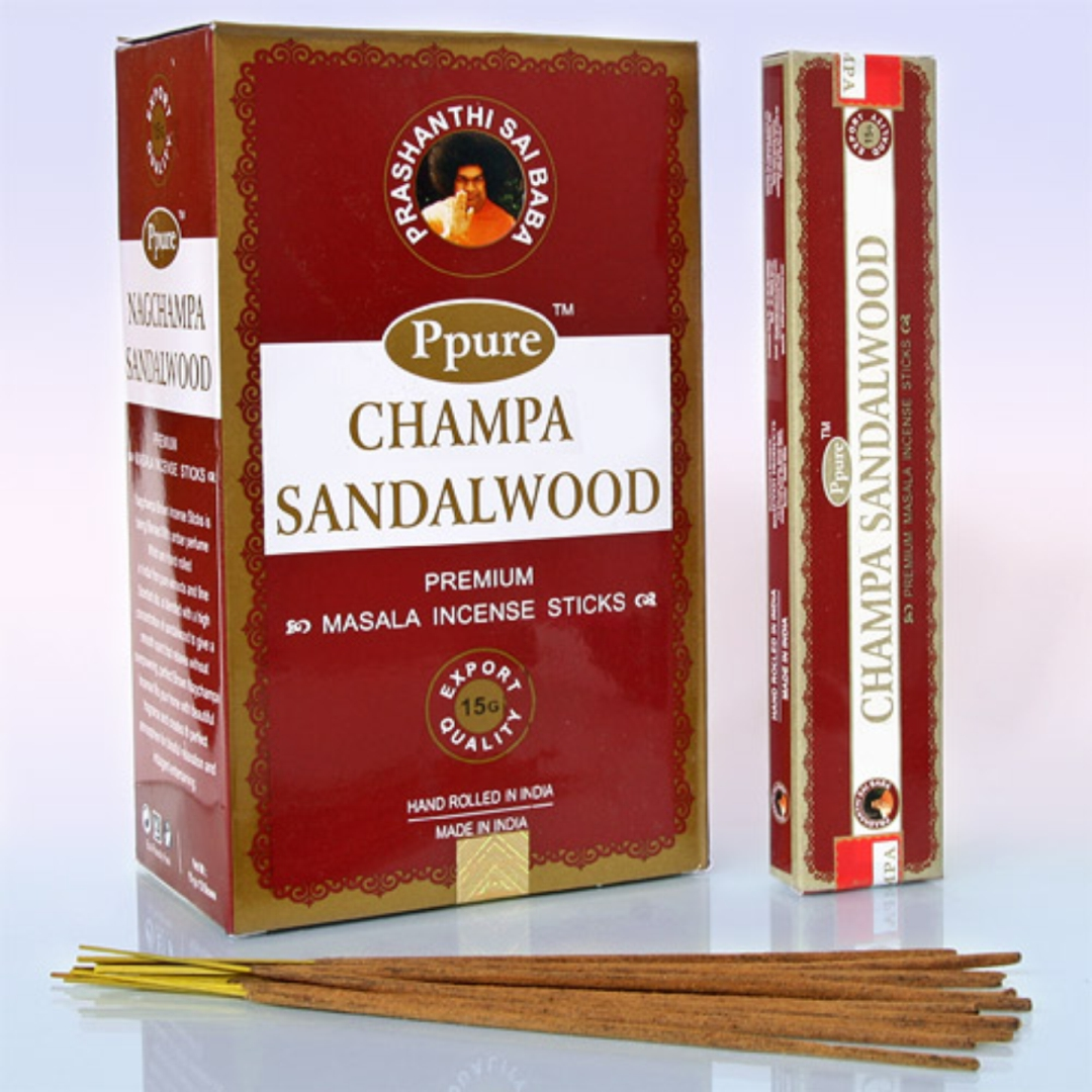 Благовония сандаловое дерево sandalwood Ppure благовония штучные lavender ppure